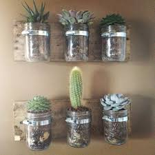 Hanging Wall Planters Diy Hanging Wall Planters From Mason Jars Kasey Trenum
