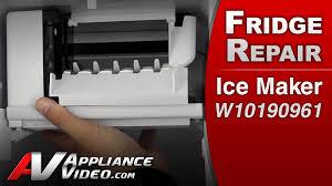 whirlpool ice maker red light flashing refrigerator diagnostic repair ice maker whirlpool maytag