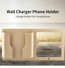 multifunctional wall socket mobile phone stand wall charging