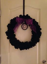 halloween wreaths diy jossie posie diy halloween wreath a la martha stewart
