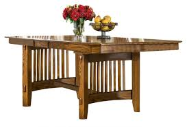 intercon furniture pasadena revival trestle dining table in