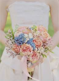 blue wedding bouquets sunday bouquet blue wedding bouquet loverly wedding