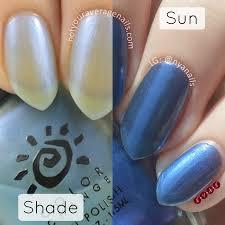 n y a nails del sol swatches