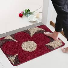 Soft Bathroom Rugs Anti Slip Door Mat Kitchens Bedroom Bathroom Carpet Soft Bath Mat