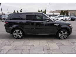 land rover sport 2016 black 2016 land rover range rover sport for sale in north york on