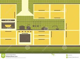 yellow modern kitchen modern kitchen interior stock photography image 30320652