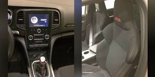 2018 renault megane rs interior and engine bay leaked photos 1