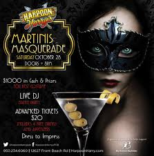 martini halloween martinis u0026 masquerade halloween party 2017 harpoon harry u0027s