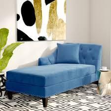 blue chaise lounge chairs you u0027ll love wayfair