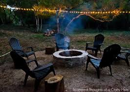 How To Make Fire Pits - how to build a firepit for your outdoor space scattered thoughts