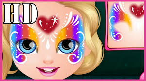 u0027s play baby barbie hobbies face painting baby face painting