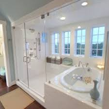 yes enclosed tub shower combo just need dual shower heads and