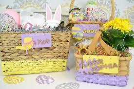 painted easter baskets diy easter basket designs craft box