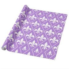 fleur de lis gifts 106 best wrapping paper images on canvas purple