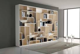 modern shelves for living room white contemporary bookcase with asymmetrical rack style designed