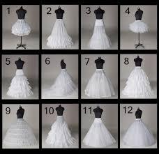 wedding dress hoops 12 styles wedding bridal slips a line petticoat hoop