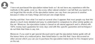 my review of matt gorden s ejaculation trainer sep 2017 update
