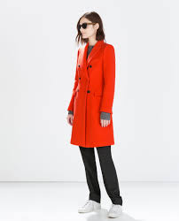 breasted coat outerwear woman zara united states