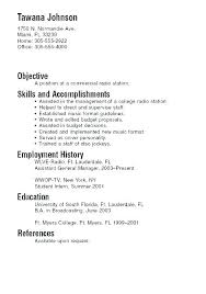 resumes exles for resume exles for college freshmen