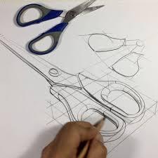 hi everyone today product quick sketch scissors 4 min
