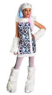 monster high abbey bominable girls child halloween costume fancy