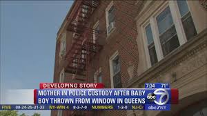 possessed baby spirit halloween prosecutors queens mom who threw baby out window said boy was