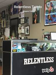 relentless tattoo 500 cayuga dr niagara falls ny tattoos