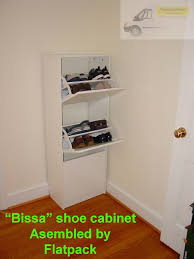 bissa shoe cabinet with 3 compartments ikea bissa shoe cabinet with 3 compartments article number 102 427