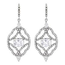 earrings uk bridal wedding earrings glitzy secrets uk