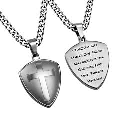 christian necklace of god follow after righteousness christian necklace 1