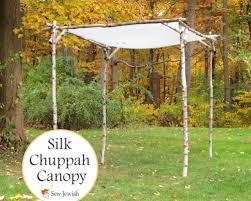 how to build a chuppah wedding diy backyard huppah