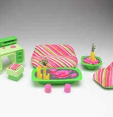Barbie Dream Furniture Collection by Vintage Barbie Living Room Dream Furniture Lot Ebth