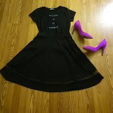 60 off faith and joy dresses u0026 skirts flirty black skirt from