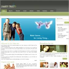 charity trust template free website templates in css html js