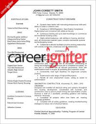 construction resume example resume construction worker sample