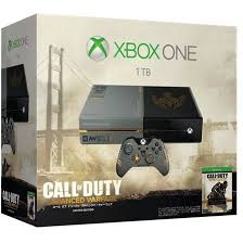 xbox e console one console system call of duty advanced warfare limited edition