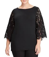 plus size tops u0026 blouses dillards