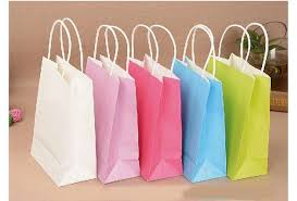 gift paper bag paper party loot bags birthday christmas colour