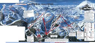 Mt Washington Trail Map by Mt Baker Ski Area Skimap Org