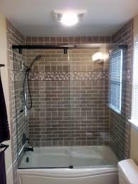 tiles installed over a maax tub hydroslide shower glass also