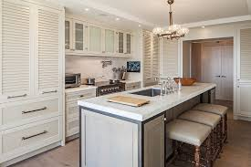 Louvered Kitchen Cabinets Louvered Kitchen Cabinet Doors Trekkerboy