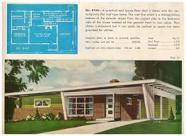 Mid Century Modern Ranch 1950s Mid Century Modern Ranch House Plans House Plans