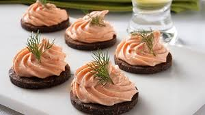 mousse canapé smoked salmon mousse canapes