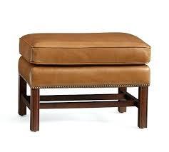 ottoman white leather ottoman footstool galaxy leather storage