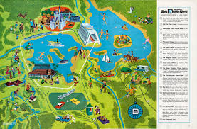Walt Disney World Resorts Map by Walt Disney World Resort
