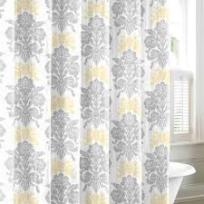 Design Shower Curtain Inspiration Pale Yellow Shower Curtain 100 Images Light Yellow Damask