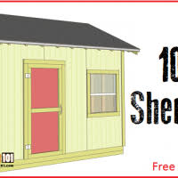 lean to shed plans 4x8 step by step plans construct101