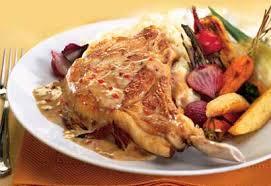 cuisiner cote de veau côtelettes de veau poêlées sauce à la crème et au poivre coup