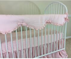 crib rail guards u0026 rail covers handcrafted by superior custom linens