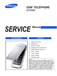 samsung gt c3520 service manual electrostatic discharge